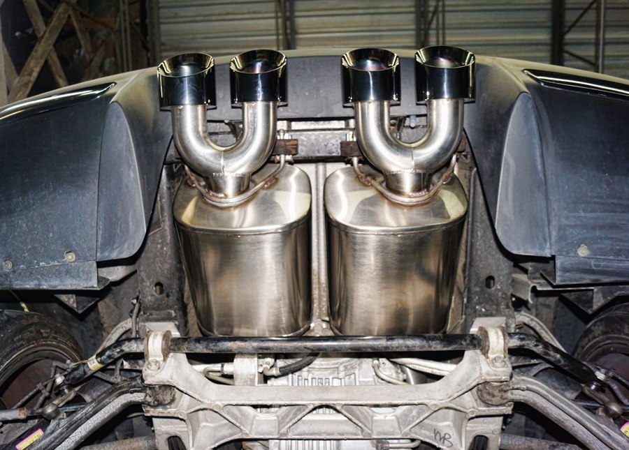2007 Corvette ZO6 Corsa Performance Exhaust
