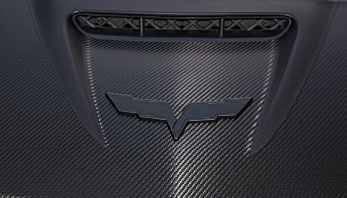2007 Corvette ZO6 Emblem Badges Plasti Dip