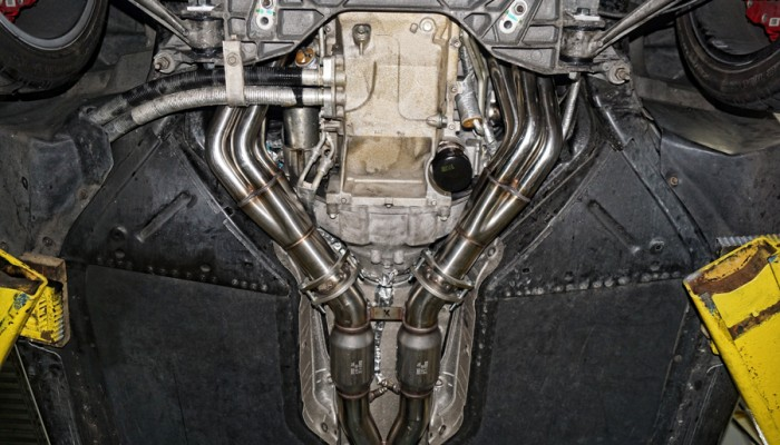 2007 Corvette ZO6 Kooks Long Tube Headers