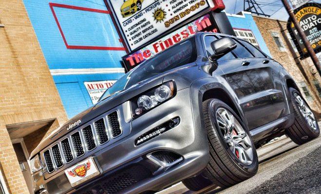 2012 Jeep Grand Cherokee SRT8 Borla Atak Exhaust System