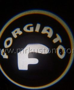 Forgiato LED Courtesy Logo Projector Lights