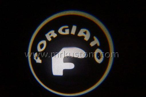 Forgiato LED Courtesy Logo Projector Lights