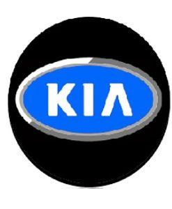 Kia Door Projector Lights Blue