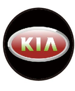 Kia Door Projector Lights Red