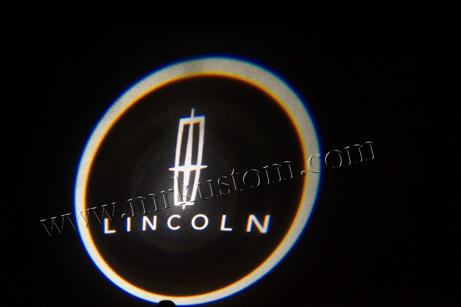 Lincoln Led Door Projector Courtesy Puddle Logo Lights Mr Kustom