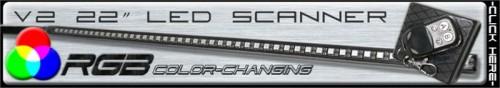 Multi Color RGB LED Scanner