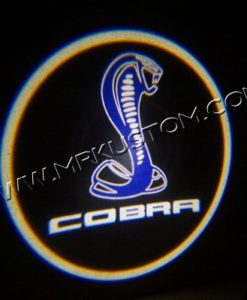 Ford Mustang Cobra GT500 LED Courtesy Logo Projector Lights