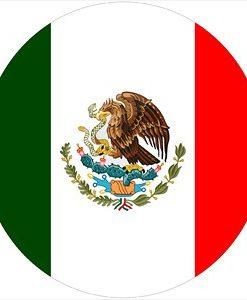 Mexican Flag LED Logo Door Projector Light