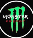 Monster Energy LED Logo Door Projector Courtesy Light