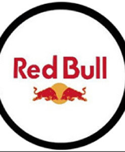 Red Bull LED Logo Door Projector Light