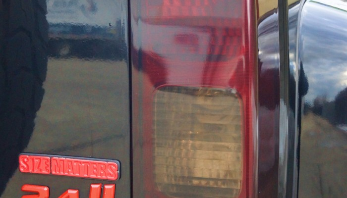Hummer H3 Smoked Tail Lights