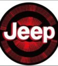Jeep LED Logo Door Projector Light Red