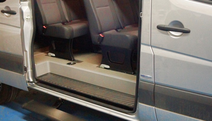 Mercedes Benz Sprinter Electric Side Steps Running Boards