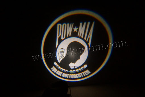 POW MIA Vietnam Veterans LED Courtesy Logo Projector Lights
