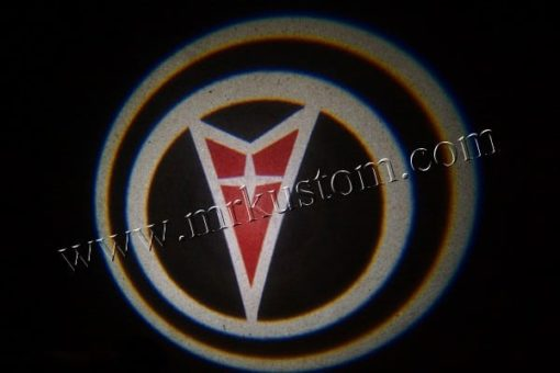 Pontiac LED Courtesy Logo Projector Lights