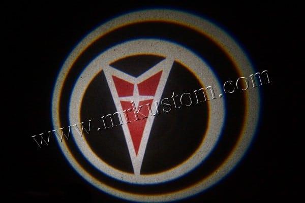 Pontiac LED Door Projector Courtesy Puddle Logo Lights