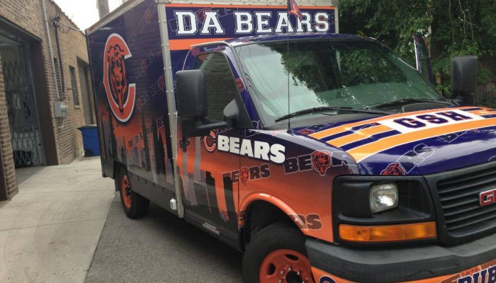 Bears Tailgating Truck