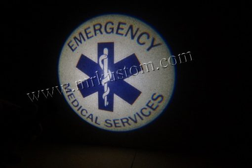 EMS LED Courtesy Logo Projector Lights