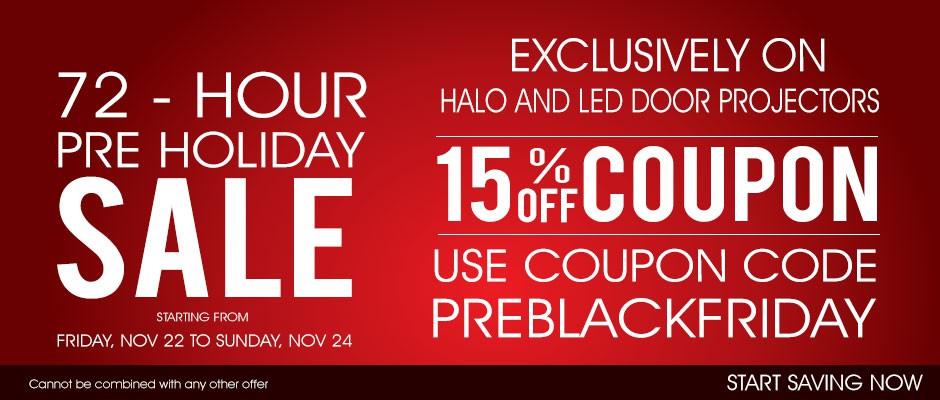 Halo Headlight Sale