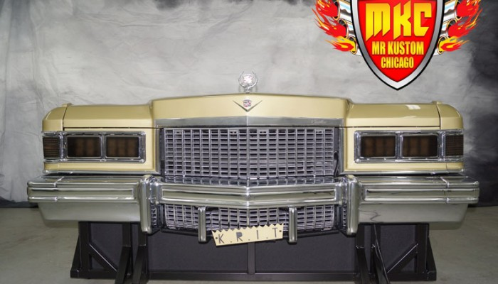 1975 Cadillac Deville Big Krit DJ Booth Front
