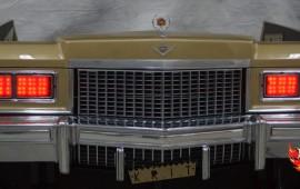 1975 Cadillac Deville Big Krit DJ Booth Red Headlights