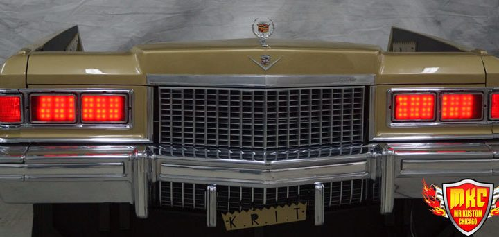 1975 Cadillac DeVille Custom DJ Booth for Big KRIT