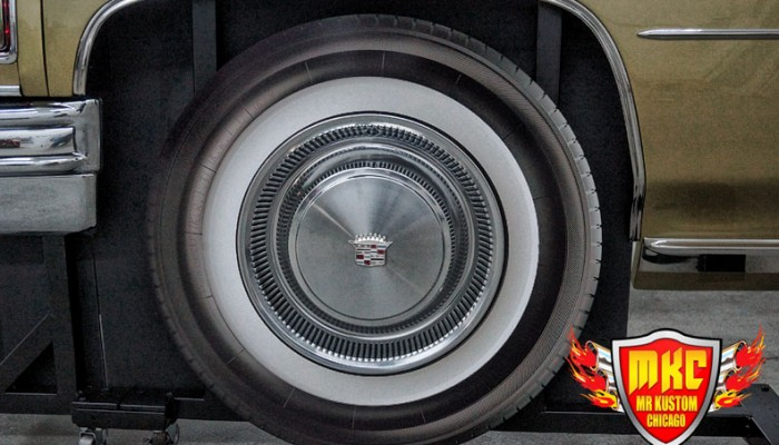 1975 Cadillac Deville Big Krit DJ Booth Wheels