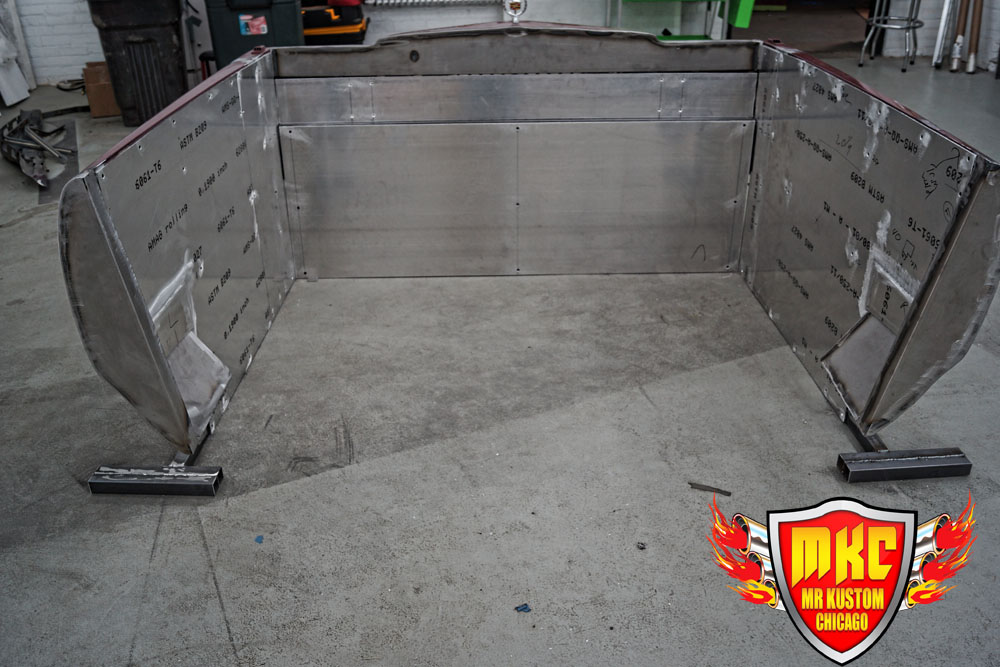 1975 Cadillac Deville DJ Booth Fabrication