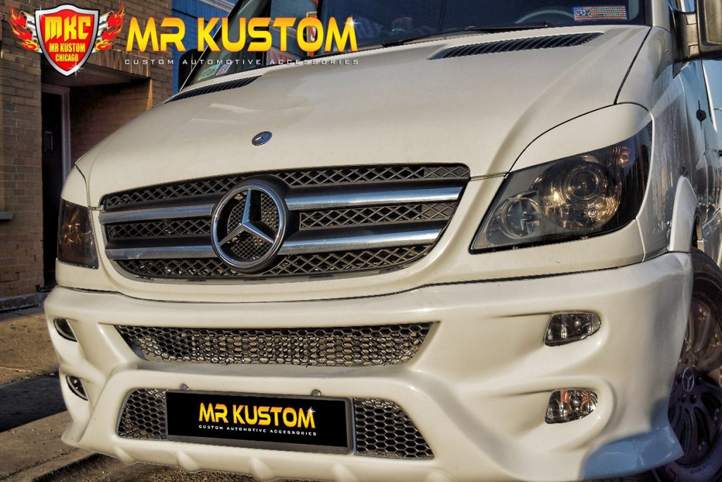2010 Mercedes Sprinter Custom Body Kit