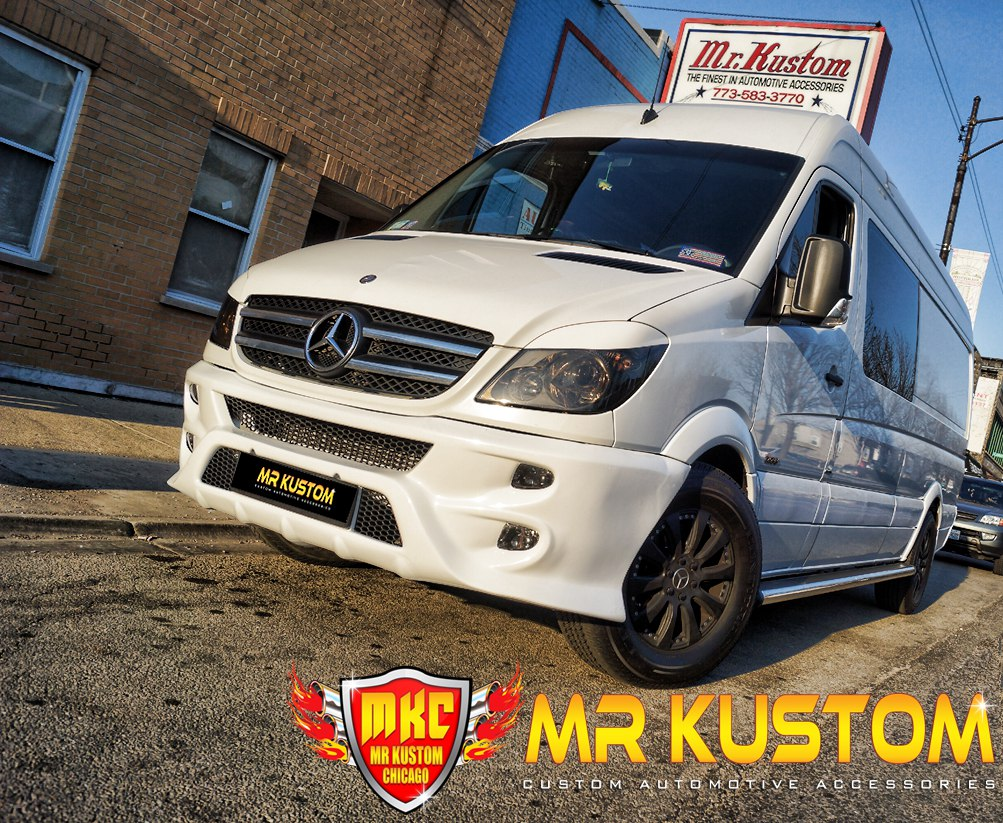 2010 Mercedes Sprinter Custom Leather Seats, Running Boards, Body Kit