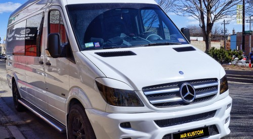 2010 Mercedes Sprinter Custom White Van