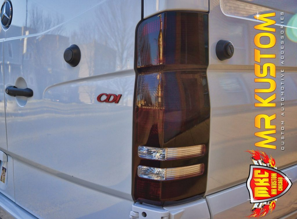 2010 Mercedes Sprinter Smoked Tail Lights