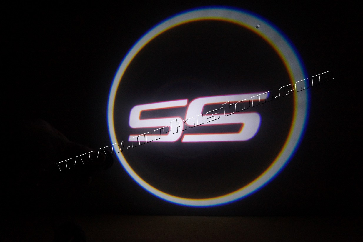 Chevy Ss Led Door Projector Courtesy Puddle Logo Lights Mr Kustom