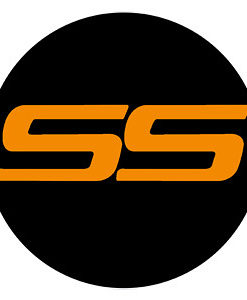 Chevy SS LED Logo Door Projector Light Orange