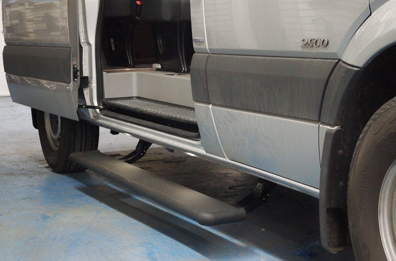 Sprinter Van Running Boards Electric Powerboard Powered