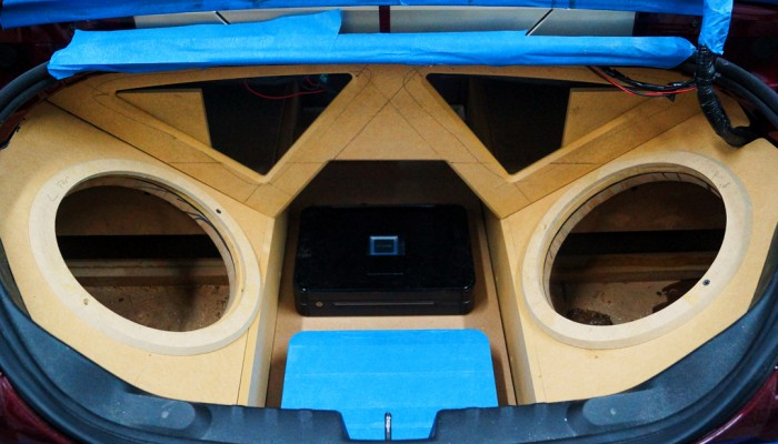 2011 Camaro SS Custom Sub Enclosure Box Build
