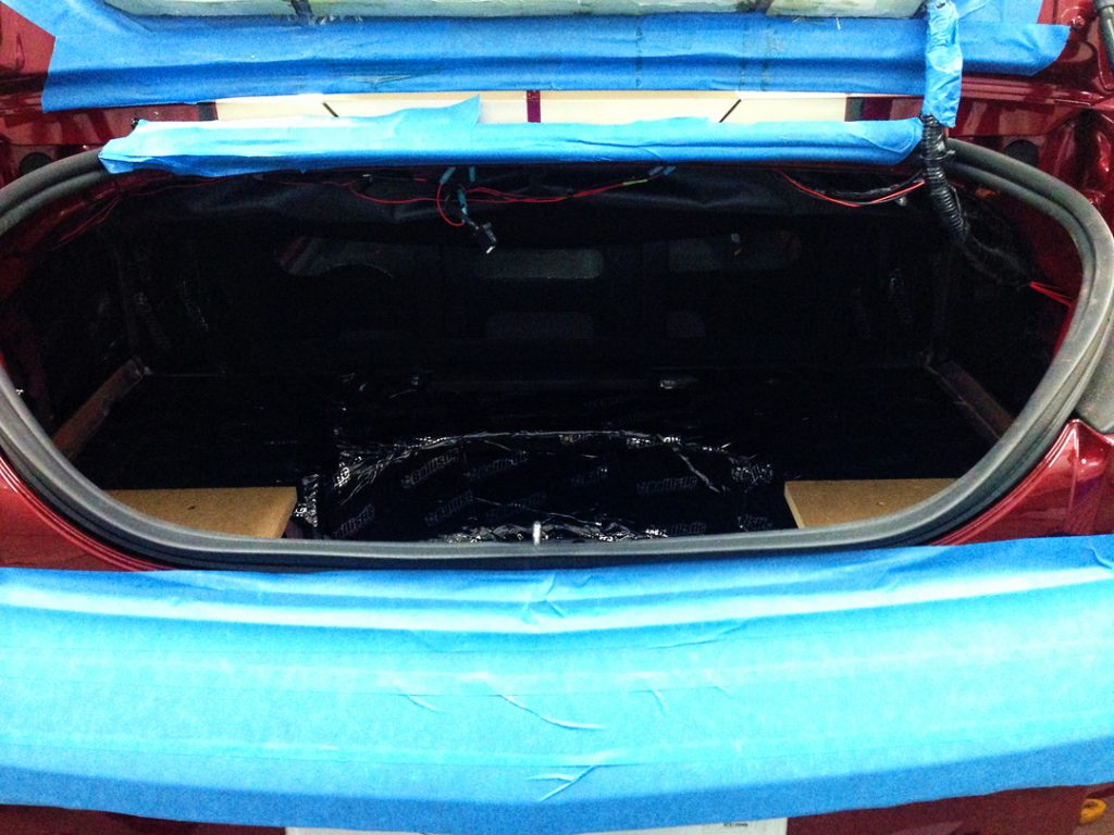 2011 Camaro SS Custom Sub Enclosure Original Trunk