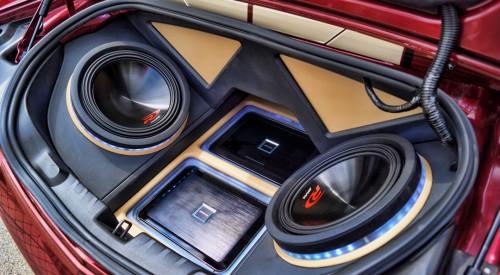 2011 Camaro SS Custom Sub Enclosure Sound System