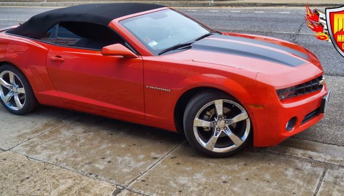 2011 Camaro RS Tinted Windows