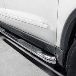Acura MDX Stainless Steel Side Steps Nerf Bars