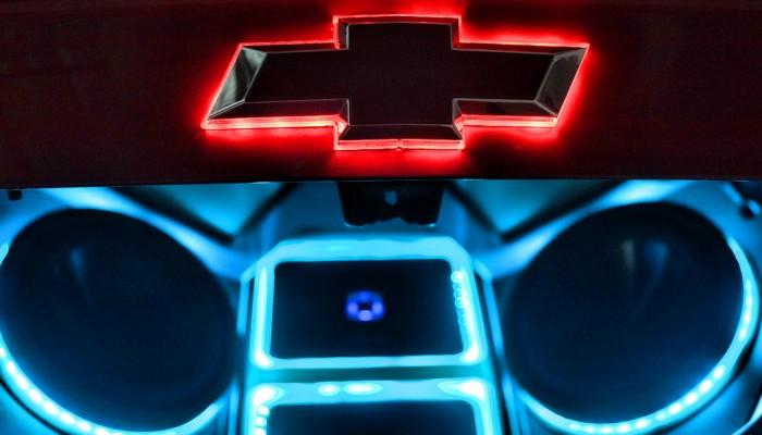 Chevy Camaro LED Bowtie Emblem