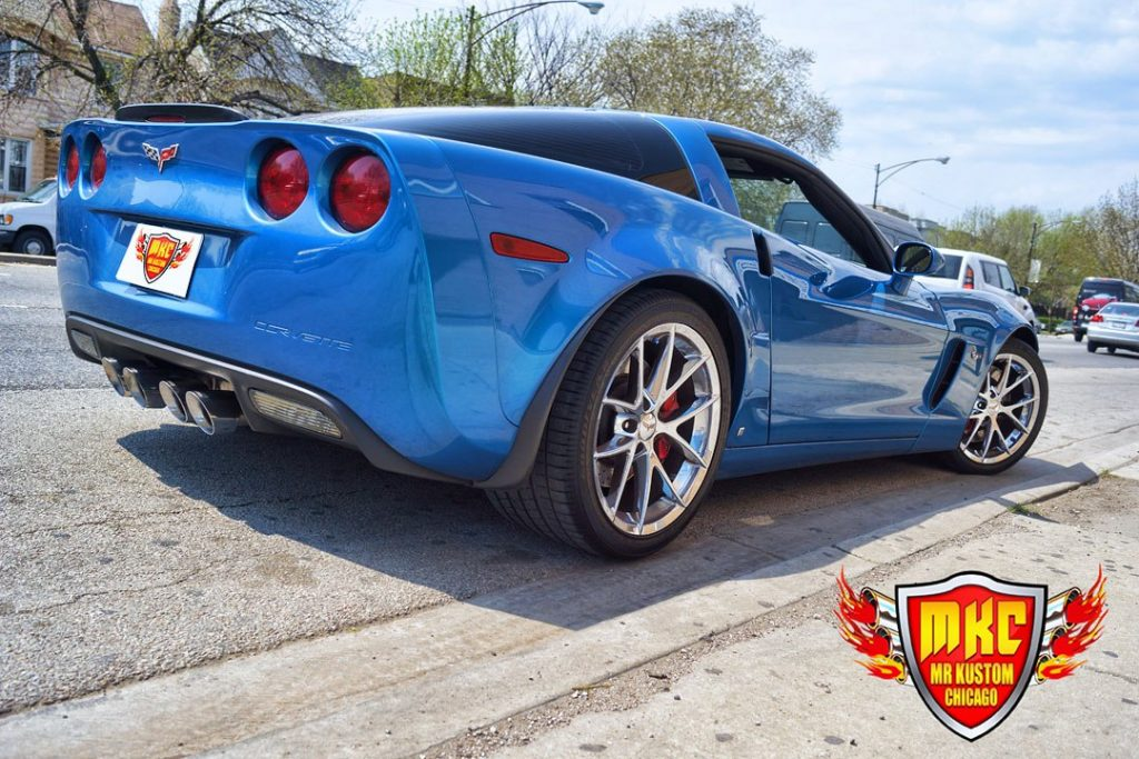 CORSA EXHAUST ON 2009 CORVETTE ZO6 - Mr  Kustom Auto Accessories and