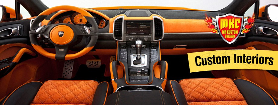 Amazing Custom Car Interiors And Upholstrey Design Ideas