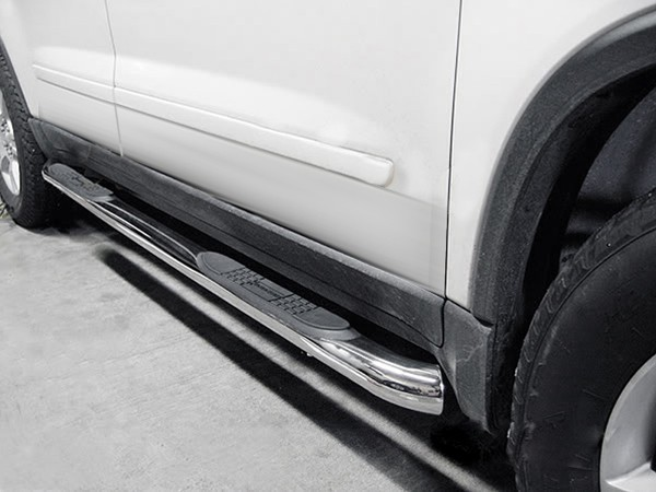 Perfect Honda Pilot Stainless Steel Side Steps