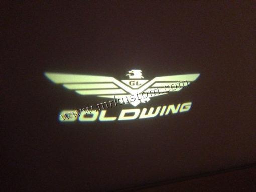 Honda GoldWing LED Courtesy Logo Puddle Projector Lights