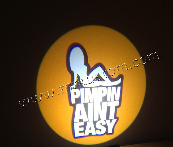 Pimpin Easy Led Door Projector Courtesy Puddle Logo Lights