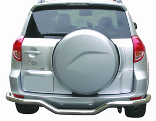 RAV4 Rear Stainless Steel Bumper Guard