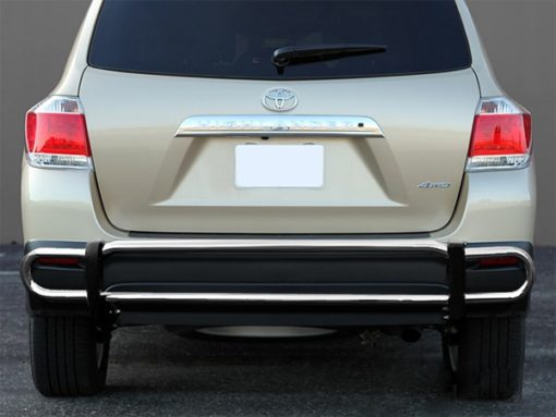 Toyota Highlander Rear Stainless Steel Bumper Guard