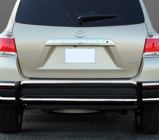 Toyota Highlander Rear Stainless Steel Bumper Guard
