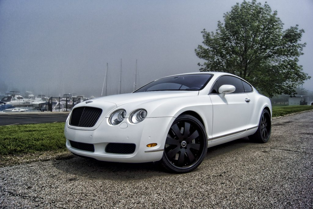 2005 Bentley Continental MAtte White